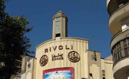 Fire Breaks Out at the Iconic Rivoli Cinema in Downtown Cairo