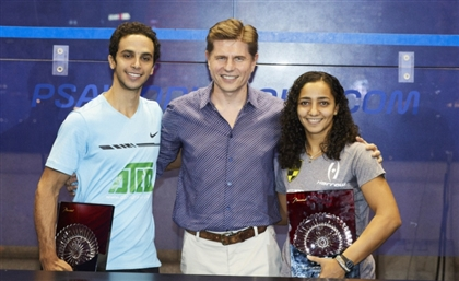 Egypt's Raneem El Welily and Mohamed Abouelghar Take Home the China Squash Open