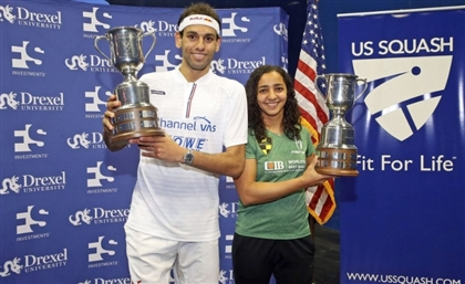 Mohamed Elshorbagy and Raneem El-Welily Win the 2018 Squash US Open
