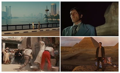 7 Hollywood Movie Scenes Shot in Cairo
