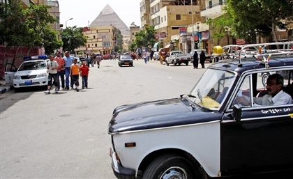 45,000 Black and White Taxis in Cairo Have Been Recycled