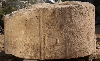 4,000-Year-Old Stone Slabs Unearthed at the Temple of the Sun in Cairo