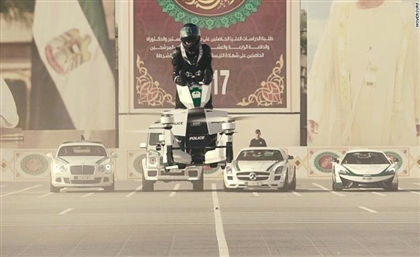 Dubai Police Will Soon Patrol on Flying Motorbikes