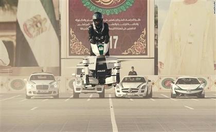 Dubai Police Will Soon Patrol on Flying Motorbikes