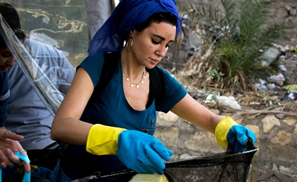 How This New Local Initiative Removed 1.5 Tons of Garbage From the Nile in One Day
