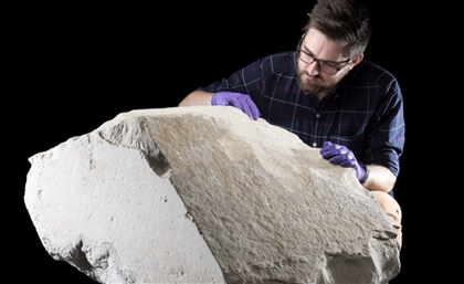 Incredibly Rare Limestone Block from Egypt's Great Pyramid to Go on Display in Scotland