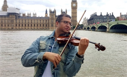 Renowned Egyptian Violinist Mahmoud Sorour Teaches First National Music Course In Saudi Arabia