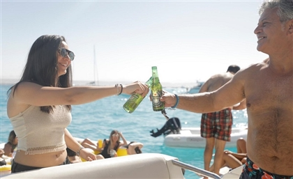 Cheers is Now Delivering Your Drinks Right Into the Middle of the Red Sea