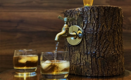 Ezazty's Wooden Bottle Dispenser is the Must-Have Accessory You Didn't Know You Needed