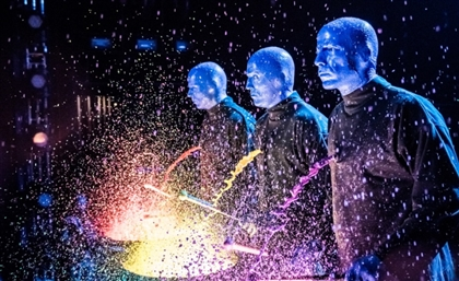 Prepare to Go Crazy Because The Blue Man Group is Coming to Egypt!