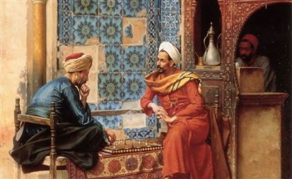 19th Century Austrian Qahwa Painting Comes to Life in Cairo's Downtown