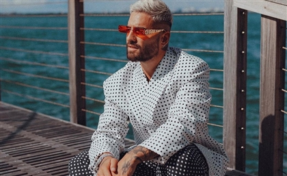 Maluma Sport Okhtein's Unreleased Eyewear Collection in Hot New Photoshoot