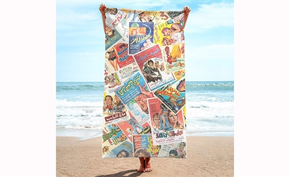 Earth Gallery's New Line of Nostalgic Beach Towels Are the Highlight of Our Summer