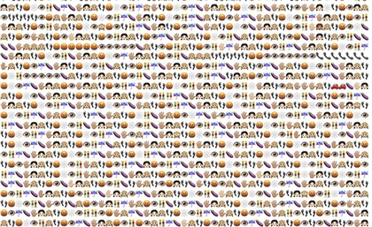 Artist Combines 60,000 Emojis for All the Times Egyptian Girls Were Harassed