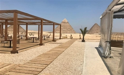 Eat, Drink and Dream at This Brand New Lifestyle and Dining Destination Overlooking the Pyramids