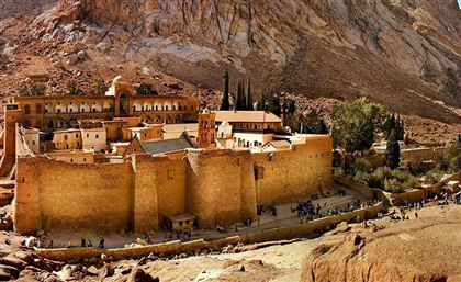 St. Catherine Monastery is Being Prepped for Mega-Restoration