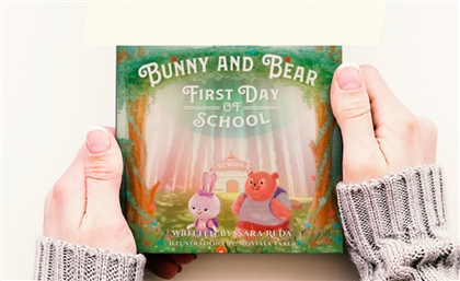 Bunny and Bear's First Day of School is a New Egyptian Children's Book About Accepting Differences