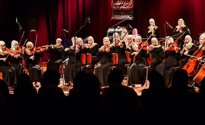 Egypt's Celebrated Orchestra of Visually-Impaired Women to Perform at Manasterly Palace