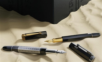 Montblanc Launches 'Heritage Egyptomania' Pen Collection Featuring Ancient Egyptian Designs