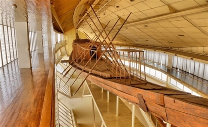 First Khufu Solar Ship Transferred to Grand Egyptian Museum