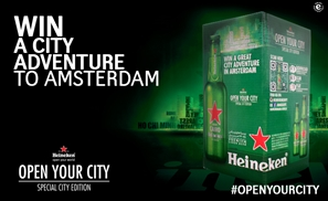 Buy the New Heineken Multipack and Win a Trip to Amsterdam