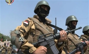55 ISIS Militants Captured by Egyptian Ground Forces