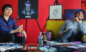 Absolut Warhol Art Exchange: Omar Mobarek X Chanel Arif