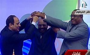 Egypt, Ethiopia & Sudan Agree on Nile, Epic Fist Bump Ensues