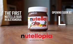 Nutellopia: Alexandria's First Nutella Bar!