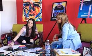 Absolut Warhol Art Exchange: Shahinda Adly X Nour Omar