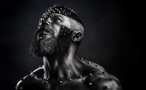 Urban Beards: Men Rocking Makeup