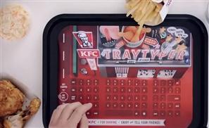 Finger Clicking Good: KFC's New Tray Typer