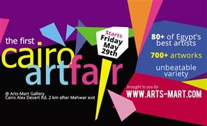 Arts-Mart's Cairo Art Fair About to Kick Off