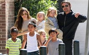 Jolie-Pitt Kids to Walk Like Egyptians?