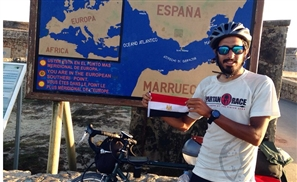 Helmy ElSaeed: Super Cyclist