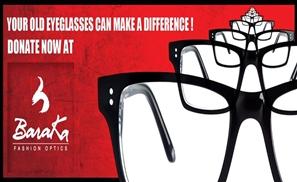 Donate Your Glasses With Baraka!