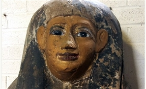 Egyptian Sarcophagus Lid Sold In England