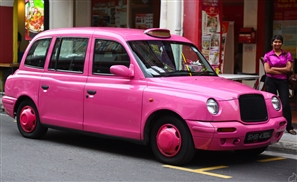 Pink Taxis About to Invade the Streets of Cairo