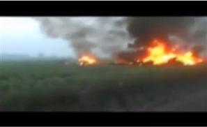 Egypt Fighter Jet Crashes
