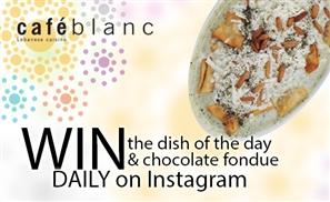 Win Big with Café Blanc
