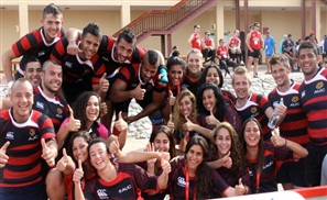 Tackling Rugby in Egypt