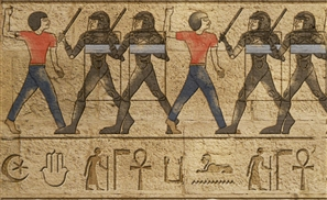 If Hieroglyphics Represented the Middle East Today