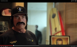 Arnie Back at Gold's Gym