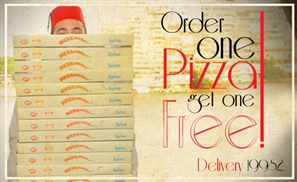 Le Pacha's Double Pizza Deal