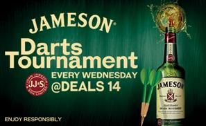 Jameson Hits the Bullseye