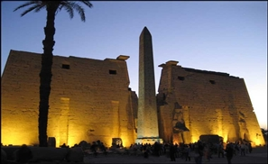 West Bank Lighting Project Brings Nocturnal Tourists to Luxor
