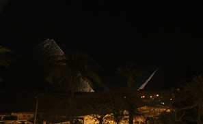 Eerie Footage: Pyramids Go Dark