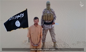 New ISIS Video Threatens Egypt with Killing a Georgian Hostage in 48 Hours