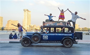 A Day with the Zapp Family: 15 Years Travelling the World in a Vintage Car