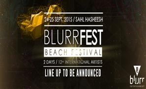 Blurrfest Shebang to Hit Sahl Hasheesh Beach